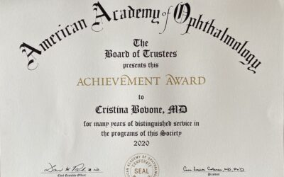 Premio American Academy of Ophthalmology